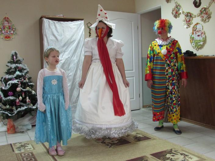 дитячий центр новорічне свято фото