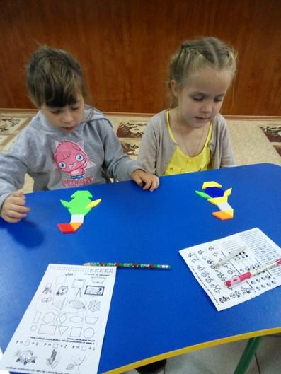 Розвиток мислення в центрі дитячого розвитку фото