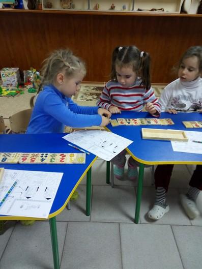 Урок математики в центрі дитячого розвитку фото