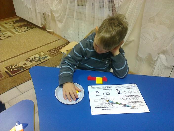 Урок ейдетики в центрі розвитку дітей фото
