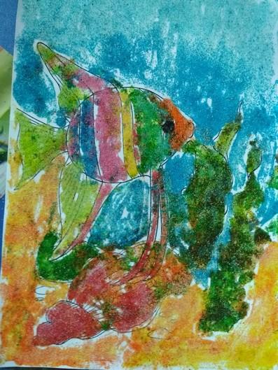 Дитячі малюнки рибки фото