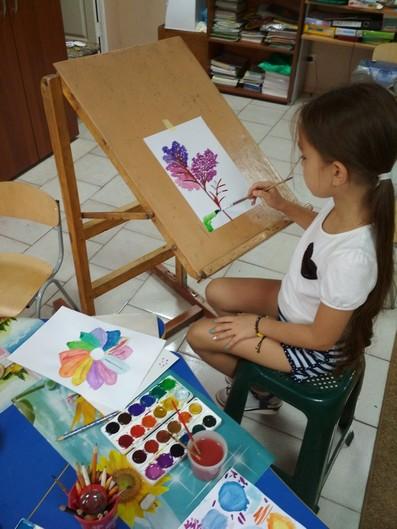 Я малюю бузок фото
